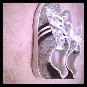 Silver fashion sneakers